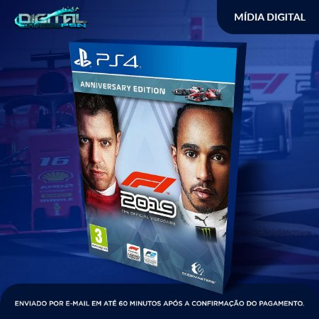 F1 2019 PS4 Mídia Digital