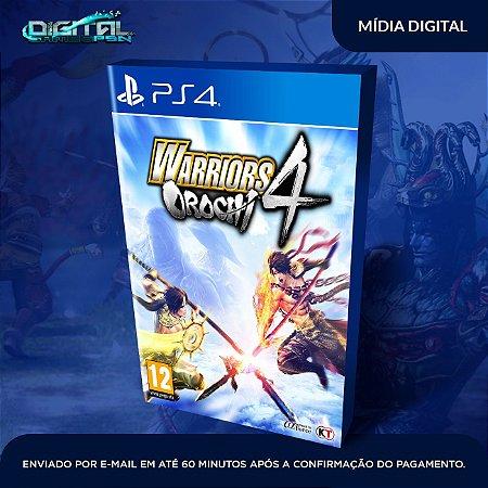 Warriors Orochi 4 PS4 Mídia Digital