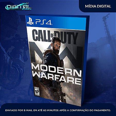 Call of Duty Modern Warfare PS4 Mídia Digital