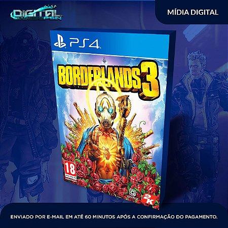 Borderlands 3 Ps4 Mídia Digital