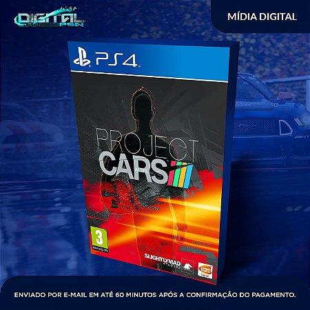 Project Cars PS4 Mídia Digital