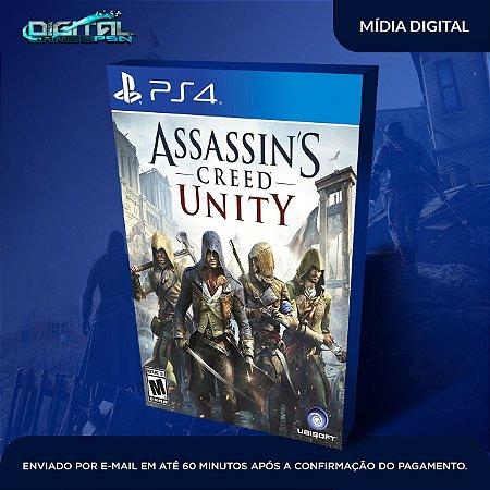 Assassin's Creed Unity Ps4 Mídia Digital