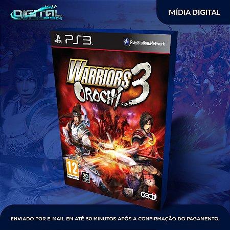 Warriors Orochi 3 Ultimate Ps3 Mídia Digital