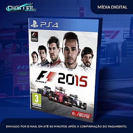 F1 2015 PS4 Mídia Digital