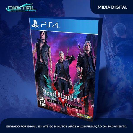 Devil May Cry 5 PS4 Deluxe Edition Mídia Digital
