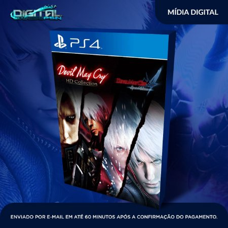 Devil May Cry HD Collection and 4SE Bundle PS4 Mídia Digital