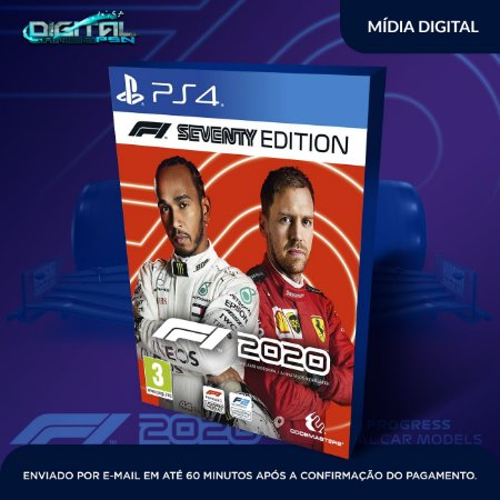 F1 2020 Ps4 Psn Mídia Digital