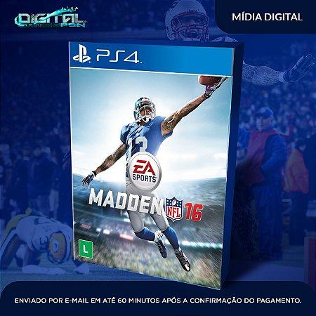 Madden NFL 16 PS4 Mídia Digital