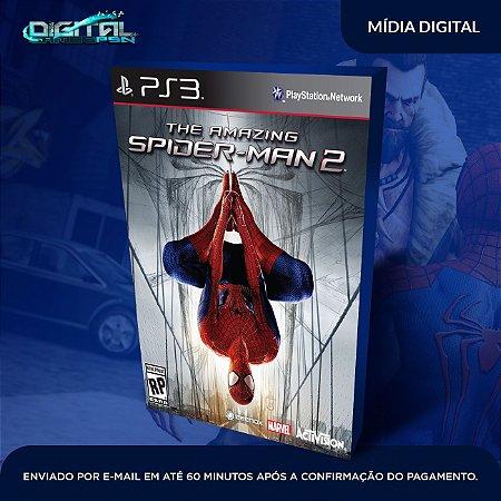 The Amazing Spider Man 2 Ps3 Mídia Digital