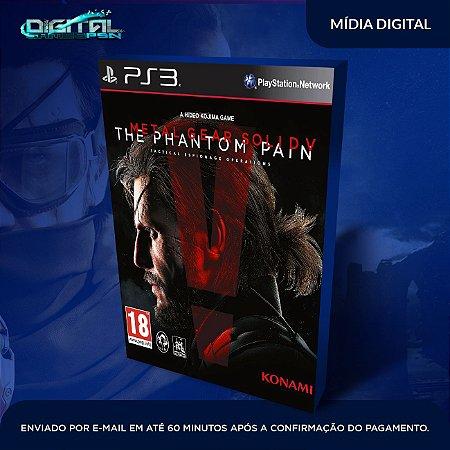 Metal Gear Solid V: The Phantom Pain PS3 Mídia Digital