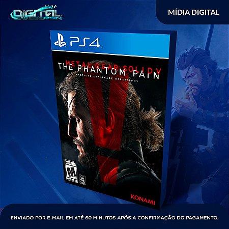 Metal Gear Solid V: The Phantom Pain PS4 Mídia Digital