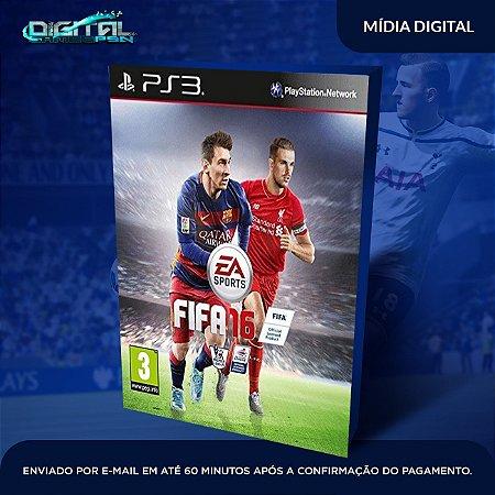 FIFA 2016 PS3 Mídia Digital