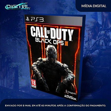 Call Of Duty Black Ops 3 PS3 Mídia Digital