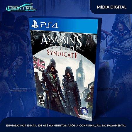 Assassin's Creed Syndicate PS4 Mídia Digital