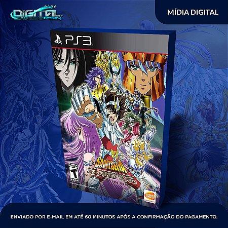 Os Cavaleiros do Zodíaco Alma dos Soldados PS3 Mídia Digital