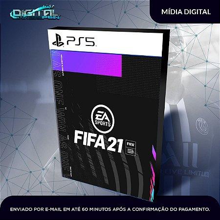 FIFA 2021 PS5 Mídia digital