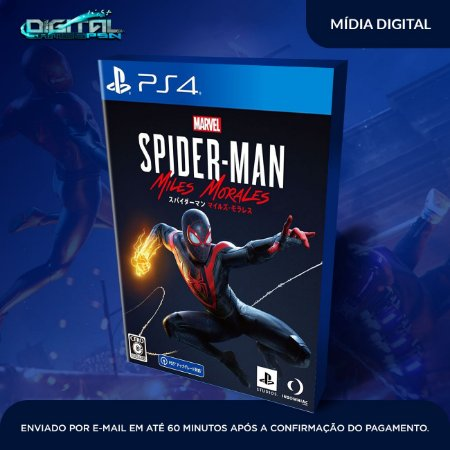 Spider-Man: Miles Morales Ps4 Mídia Digital (secundária)