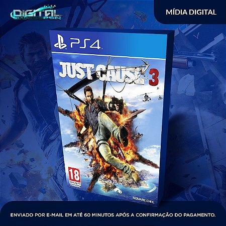 Just Cause 3 PS4 Mídia Digital