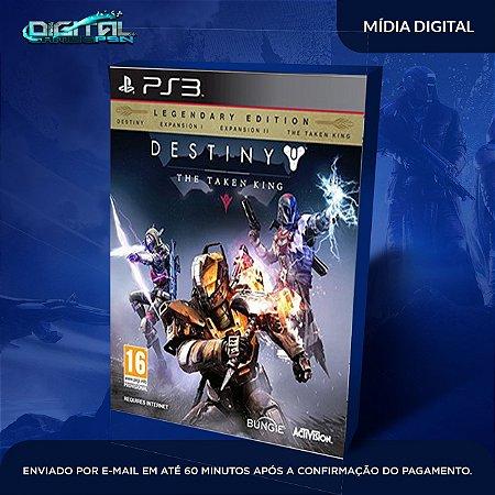 Destiny: The Taken King PS3 Mídia Digital