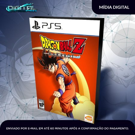 Dragon Ball Kakarot PS5 Mídia Digital