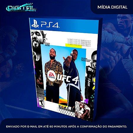 EA UFC 4 Standard Edition Ps4 Mídia Digital