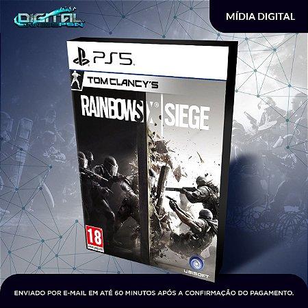 Tom Clancy's Rainbow Six Siege Ps5 Mídia Digital