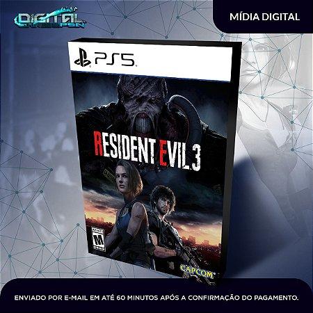 Resident Evil 3 Remake Ps5 Mídia Digital
