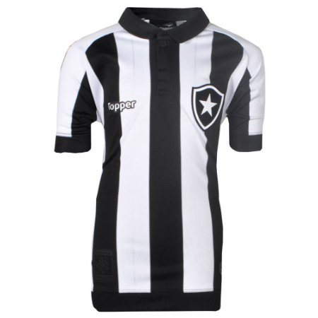 Camisa Botafogo Jogo I Juvenil 2017 Topper