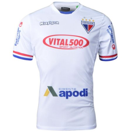Camisa Fortaleza Jogo II N 10 2016 Kappa