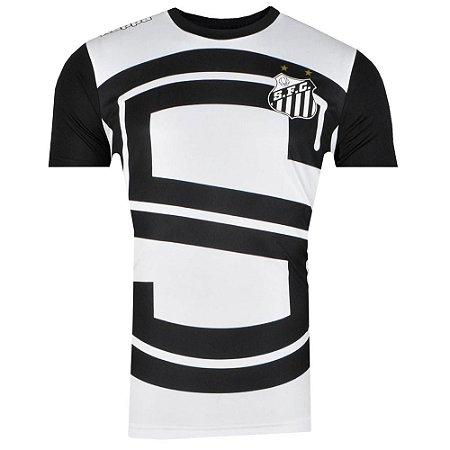 Camisa Santos Aquecimento I 2017 Kappa