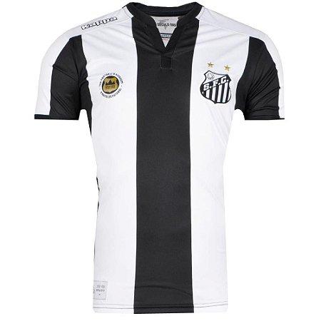 Camisa Santos Jogo II Torcedor 2016 Kappa