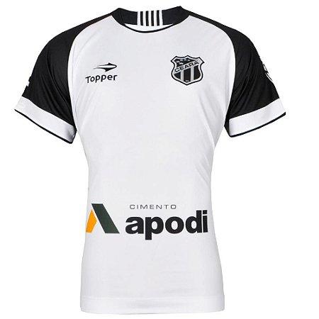 Camisa Ceará Jogo II N°10 C/Patrocínio Plus Size 2016 Topper