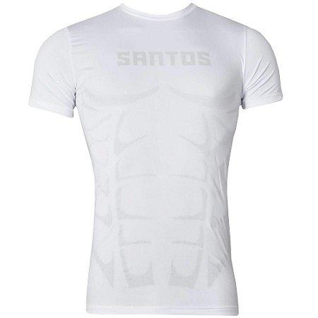 2a9d303786 Camisa Santos Compressão Aquecimento 2016 Kappa