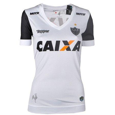 Camisa Atlético Jogo II Feminina 2017 Topper