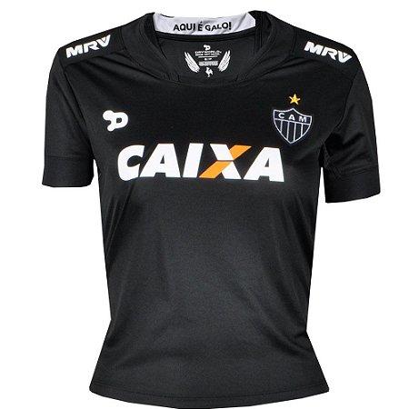 Camisa Atlético Jogo III Feminina 2016 Dry World