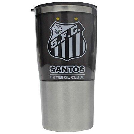 Copo Pequeno de Plástico Santos FC