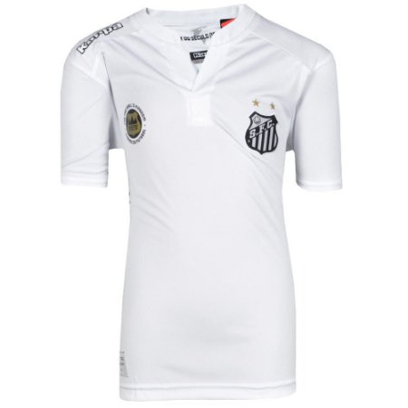 Camisa Santos Jogo I Torcedor Juvenil 2016 Kappa