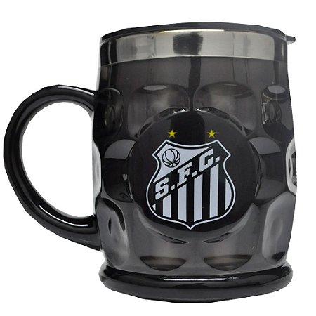 Caneca de Plastico Detalhada Santos FC