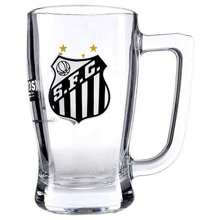Caneca de Vidro 340 ml Santos FC