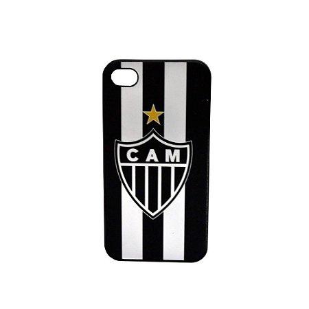 Capa Iphone 44S Escudo Atlético