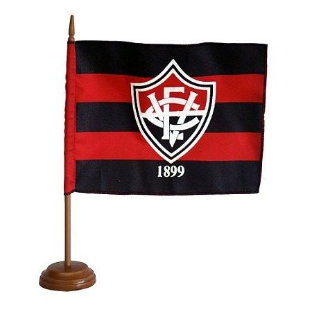 Bandeira de Mesa C/Mastro e Base Vitoria