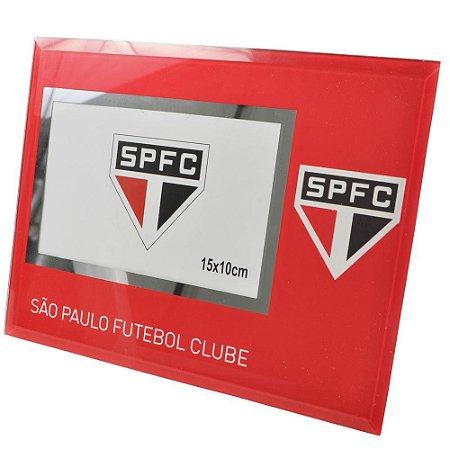 Porta Retrato de Vidro São Paulo FC