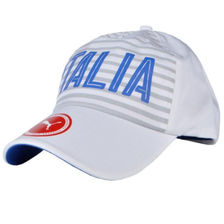 Cap Itália Fanwear Puma Branco