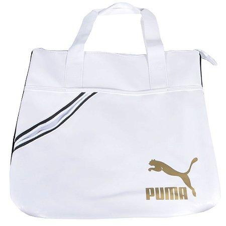 Bolsa Puma Archive Shopper - Branco