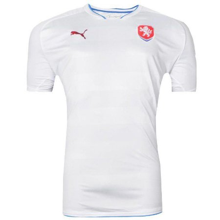 Camisa República Tcheca Jogo II 1516 Puma