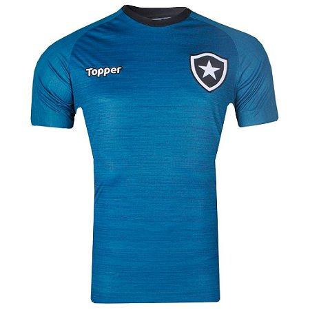 Camisa Botafogo Treino Atleta 2017 Topper
