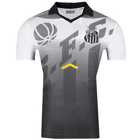 Camisa Santos Pólo Viagem Comissão Tëcnica 2017 Kappa