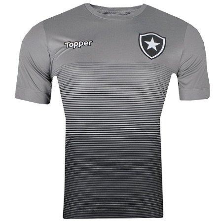 Camisa Botafogo Concentração Comissão Técnica 2017 Topper