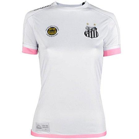 Camisa Santos Jogo I Official Feminina Plus Size 2017 Kappa