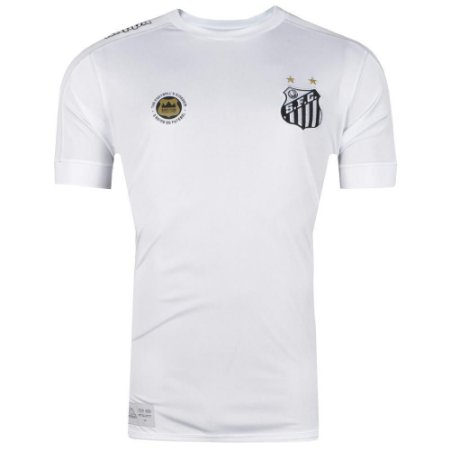 Camisa Santos Jogo I Official Plus Size 2017 Kappa